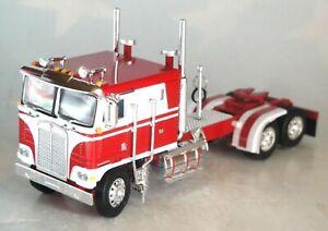 "DCP RED WHITE KENWORTH K-100 110"" CAB 1/64 60-0898 C"