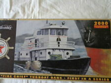 Ertl Texaco Fire Chief Tugboat Bank 2000 Millennium Edition 1st in a Series