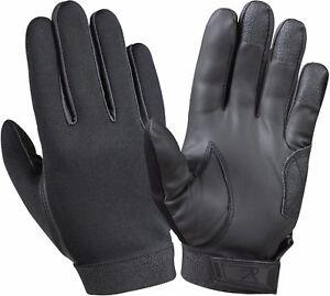 Black Waterproof Multi Purpose Cold Weather Neoprene Rubber Shooting Gloves