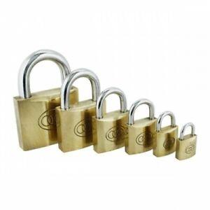 Tri Circle Brass Padlocks 20mm-63mm