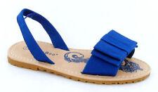 Scarpe Sandali blu con tela per bambine dai 2 ai 16 anni