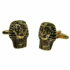 Oro Plateado EGIPTO EGIPCIO FARAONES Máscara Gemelos