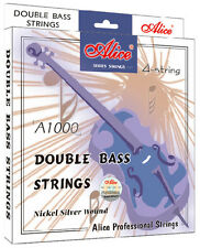 Alice 4 string Double bass strings Steel Core Aluminum Alloy Wound A1000