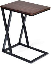 Beistelltisch Metall Laptoptisch Sofatisch Schreibtisch Couchtisch 50x34,5x60cm