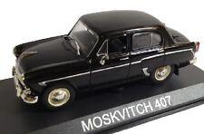 1/43 MOSKVITCH 407 IXO AGOSTINI DIECAST BALKAN CARS