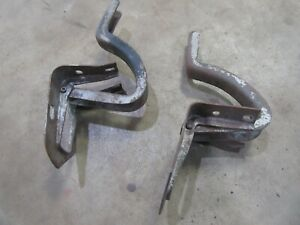 1947 Ford 4 door sedan rear trunk lid hinge pair set hot rod rat rod parts