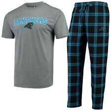Carolina Panthers Pajama Set by Concept Sports - Adult Size 2X