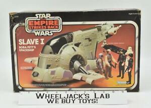 Boba Fett's Slave 1 Star Wars ESB Empire Strikes Back 1981 Kenner Vehicle