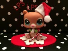 LITTLEST PET SHOP AUTHENTIC # 2109 BLYTHE MOSCUE BEAR RARE W/ACCESSORIES