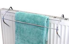 Chrome Extendable Radiator Airer Drier Rail Clothes Home Bathroom