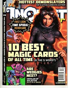 Inquest Gamer Magazine - Oct 2006 # 138 - 10 Best Magic Cards of All Time