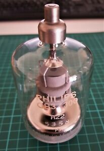 Philips QB3/300 / 4-125A / RS1007 / 6155 RF Power Tetrode, Used.