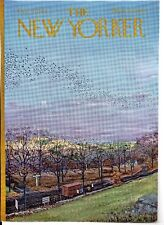 NEW YORKER MAGAZINE ORIGINAL COVER DATED 21 OCTOBER 1967