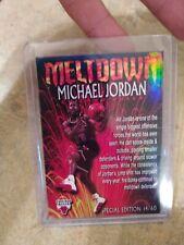 Michael Jordan Meltdown 3-D Lenticular 14/60 Special Edition RARE ACEO