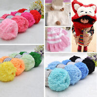 New Super Soft Double Knitting Chunky Towelling Wool Ball Skeins Yarn