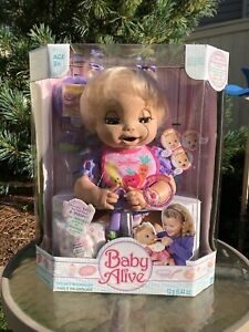 Hasbro 2006 Baby Alive Doll She Really EATS & POOPS Speaks In English NEW IN BOX