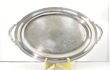 Oneida Silverplate Footed Serving Tray