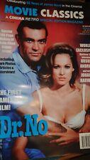 Cinema Retro Magazine Movie Classics James Bond Dr No Limited Edition Magazine