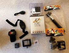 AC53 eXtreme Plus Action Sports Video HD Camera Waterproof Remote Wifi Accessory