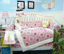 SoHo Princress Catherine Toile Baby Crib Bedding 13 pcs Set included Diaper Bag