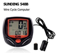 Bike Bicycle SPEEDOMETER Cycle Digital Odometer Computer MPH KMH waterproof LCD