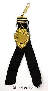 Medal + Ruban- Championship Of Natation. France, To 1930