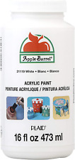 Apple Barrel Acrylic Paint in Assorted Colors (16 Ounce), 21119 White