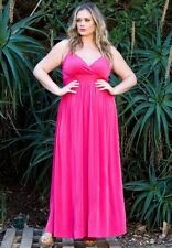Sexy SWAK Designs Plus Size Sabrina Maxi Party Cruise Club Dress, Glamorous
