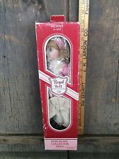 Nichole Porcelain Doll R-008 Regal Doll  Collection In Original Box
