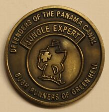 33rd Infantry RCT Jungle Expert Ft Sherman Panama Defenders Army Challenge Coin