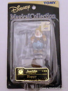 """Unopened TOMY 100th Disney Magical Collection 004 """"Snow White"""" Happy Dwarf 2.2"""""""