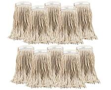 10 KENTUCKY 16oz 450G Heavy Duty Mop Heads Cotton Thick TWINE CHSA APPROVED