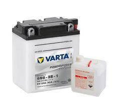 VARTA 6N6-3B-1 Motorradbatterie 6V 6 Ah 006012003 6Ah NEU & ORIGINALVERPACKT
