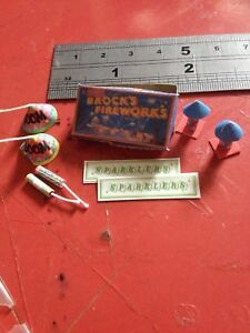 1:12th Scale Dolls House Miniature 'Brocks Fireworks'