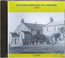 GENEALOGY DIRECTORY OF AYRSHIRE 1903 CD