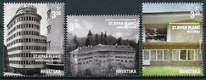 Croatia Modern Architecture Stamps 2020 MNH Stjepan Planic Architects 3v Set
