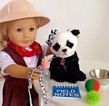 """Realistic Panda Bear Pet for American Girl Doll 18"""" Accessories Fit Zoo Play Set"""