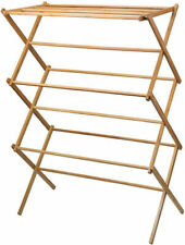 Home-it 420 Bamboo Wooden Laundry Drying Rack