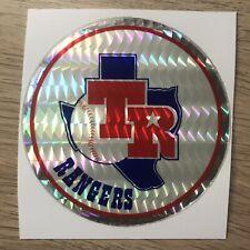 Texas Rangers Vintage 80s MLB Sticker