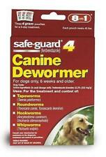 Large Dog Worms Medicine Fenbendazole Safeguard Puppy Dewormer Tapeworm 8in1 NEW
