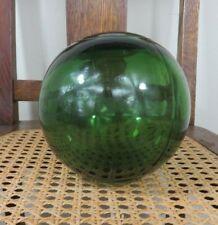 Rare Antique Flesland Glassverk Glass Hand Blown Fishing Float Finland