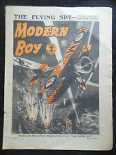 The Modern Boy (August 5th 1939) Vintage Boy's Comic/Stories - Alfred Edgar etc