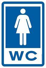 Cartel WC Mujeres