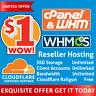 Reseller Hosting Unlimited - CloudLinux - LiteSpeed - Railgun - FREE SSL - WHM