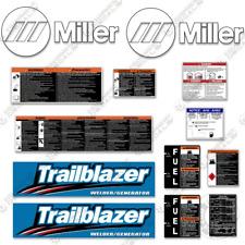 Miller Trailblazer Decal Kit Generator Welder Replacement Stickers 7 Year Vinyl