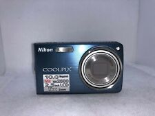Nikon Coolpix S550 10MP Digital Camera with 5x Optical Zoom Cool Blue