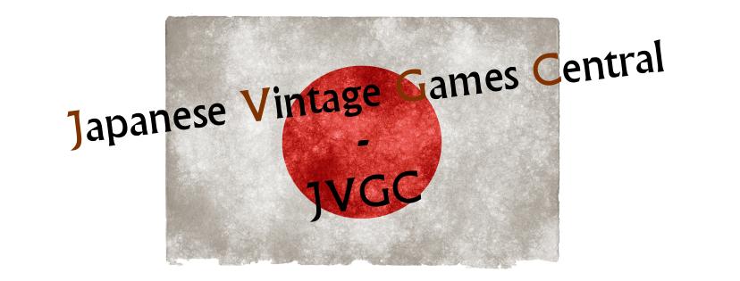 Japanese Vintage Games Central