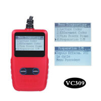 Universal OBD2 Scanner Portable Car Diagnostic Tool w/Dictionary for DTCs Lookup
