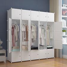 Kleiderschrank Garderobe für hängende Kleidung, Kombischrank, modularer Schrank