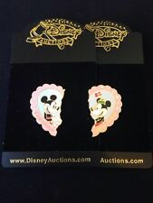 Disney Auctions Pin Mickey Minnie Valentine's Day Set LE 100